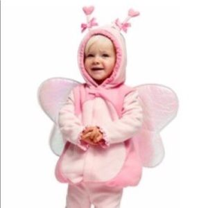 Pink butterfly costume/ coat